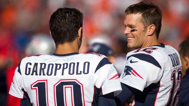 Could the Patriots not trading Jimmy Garoppolo signal the end is near forBrady?